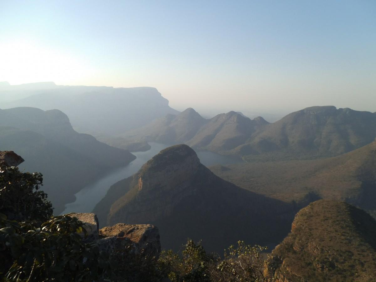 Ausblick in den Blyde River Canyon
