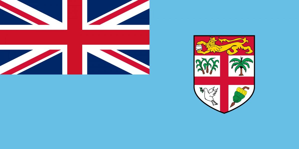 Flagge Fidschis