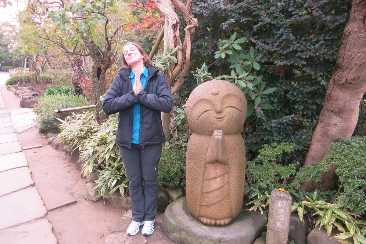 Ohne Worte (Hasedera Tempel, Kamakura)