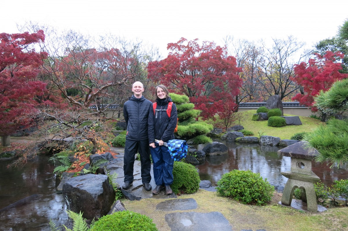 Auf Wiedersehen an Japan! (Himeji, Koko-en-Gärten)