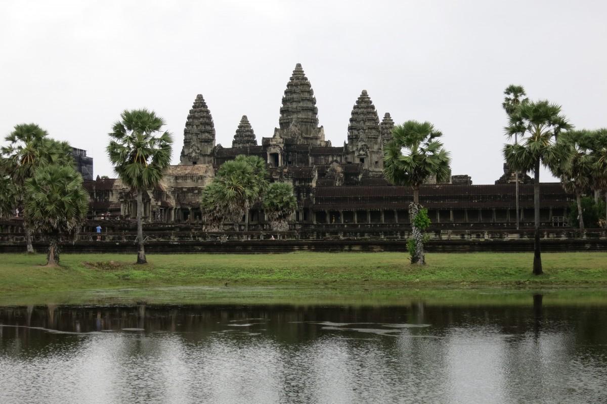 Ein letzter Blick auf Angkor Wat - Auf Wiedersehen an Kambodscha!