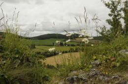 Blick vom Rock of Dunamase