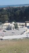 Griechische Theater im archäologischen Park