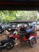 Unser Tuktukfahrer mit Hängematte