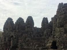Bayon der Tempel mit den Gesichtern