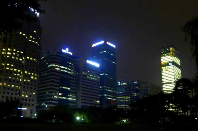 Yeouido Nachtansicht