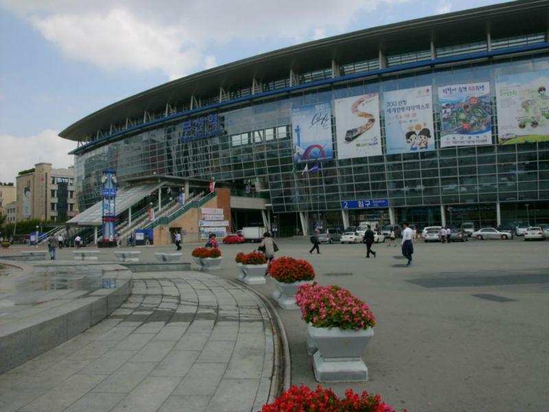 Bahnhof Busan
