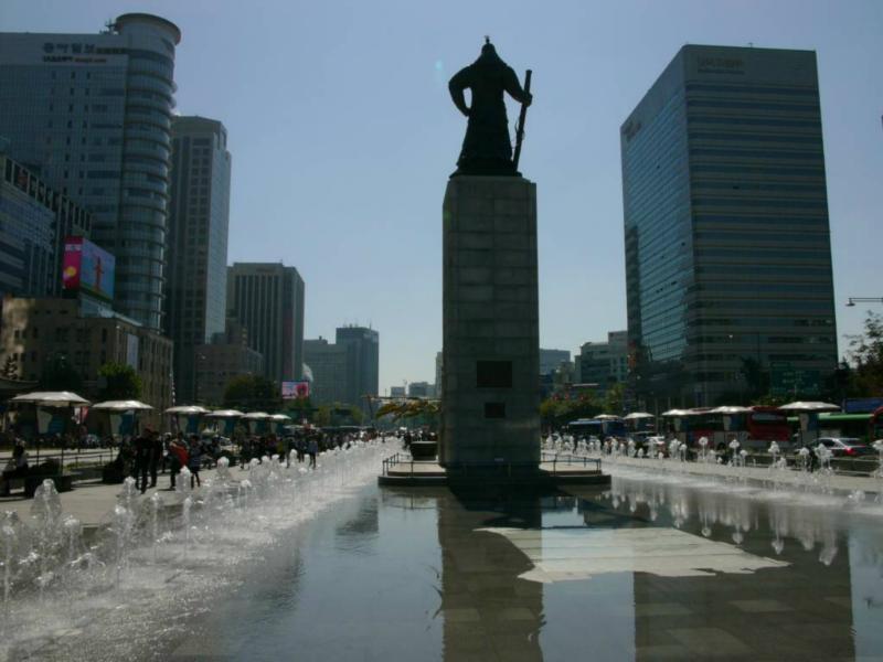Beeindruckende Statue des berühmten General