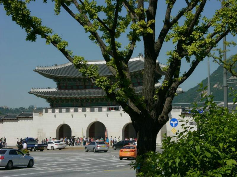 Das Gwanghwa-Tor (Gwanghwamun)