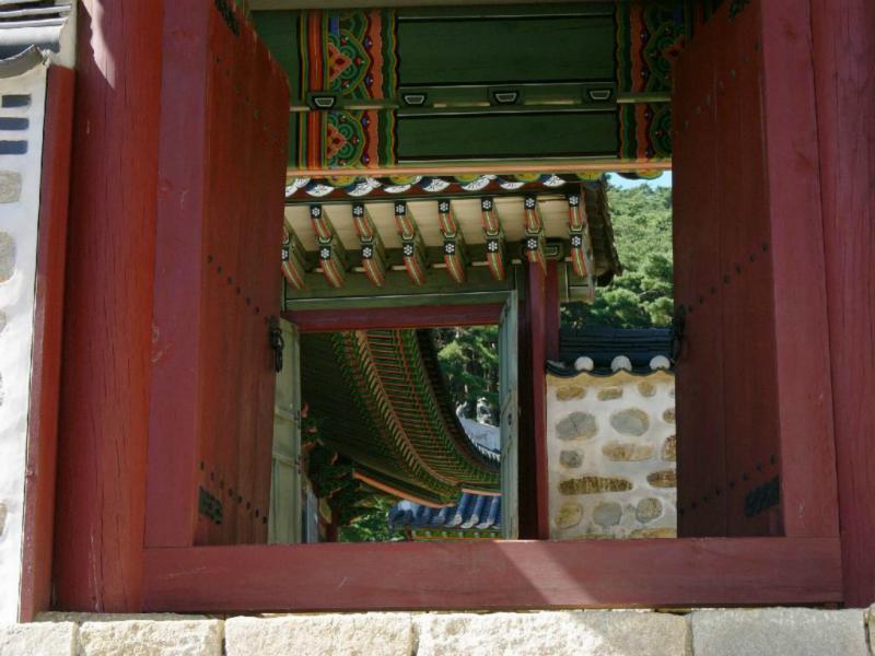 Namhansangseong. Palastimpression