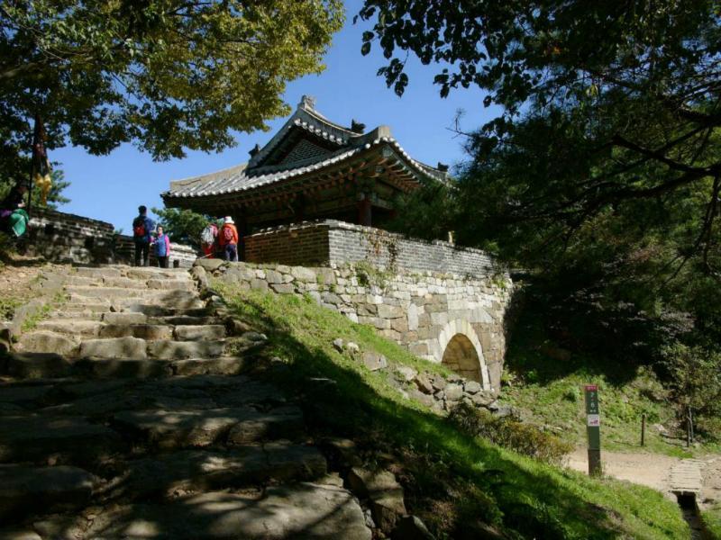 Das Nordtor der Festungsanlage