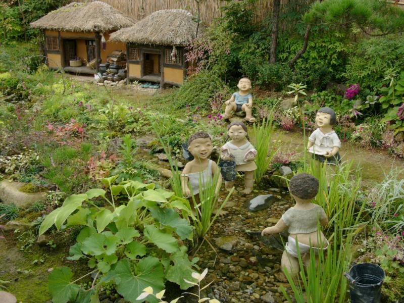 Die koreanische Entsprechung zum Gartenzwerg