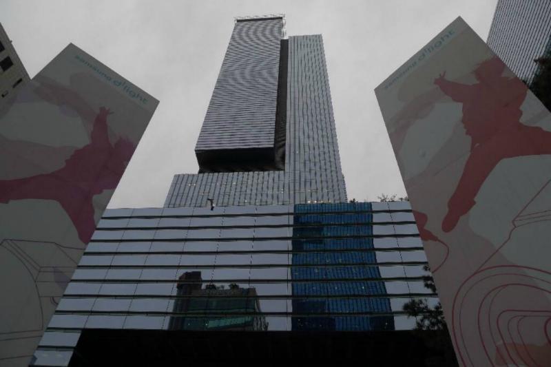 Koreas BigBlue: Samsung Zentrale in Gangnam