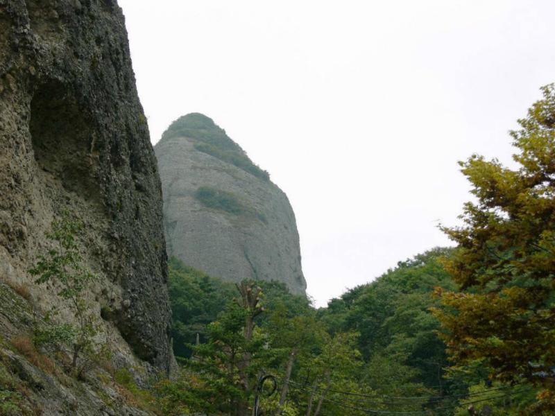 Geschafft: kurz vor dem Berg-Tempel