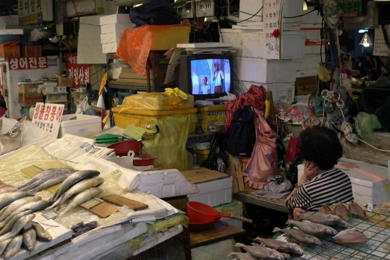 In Korea läuft immer irgendwo ein Fernseher