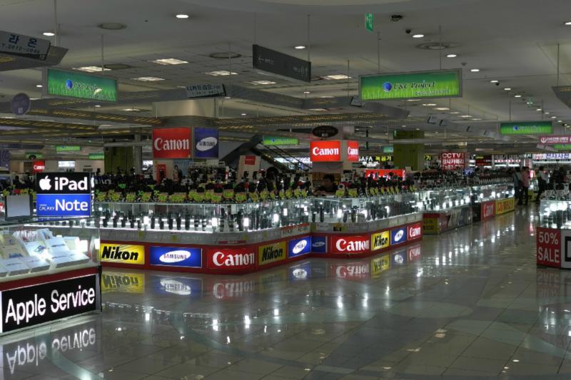 Elektronikmarkt am Yongsan-unendliche Auswahl