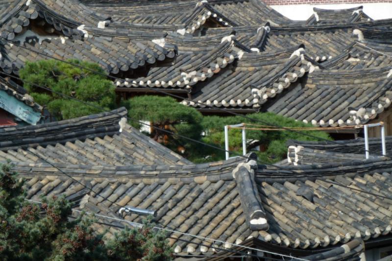 Seouls größtes Hanokhaus-Ensemble ist Bukchon