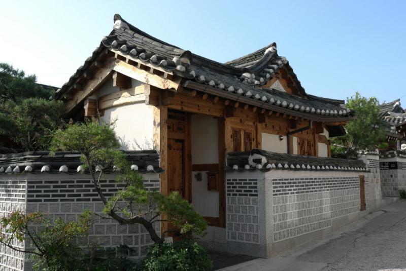 Alte Häuser, aber alles modernisiert