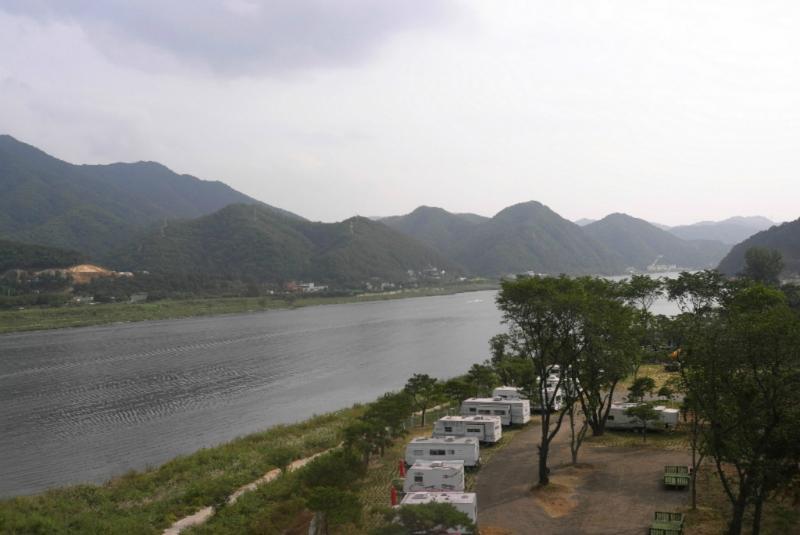 Camping gibt es inzwischen vermehrt in Südkorea.