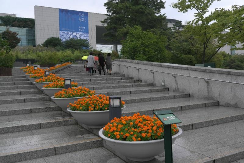 Eingangsbereich des National Museums Korea