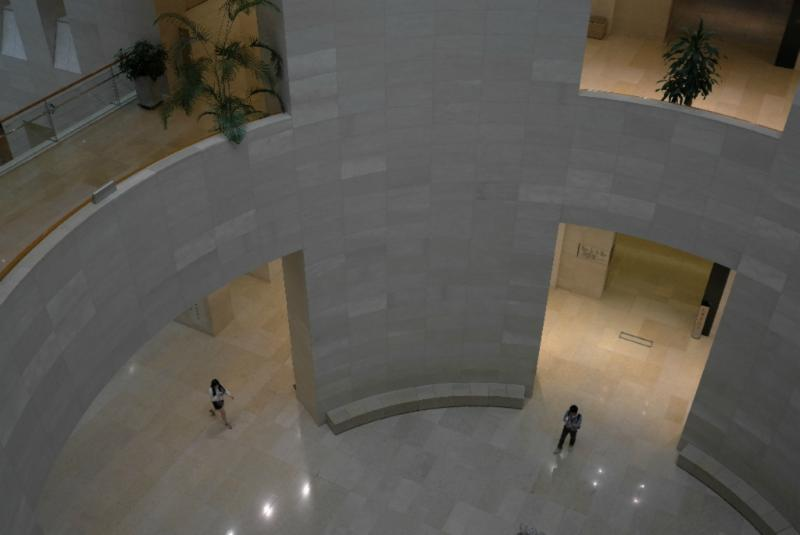 Blick vom 3. Stock
