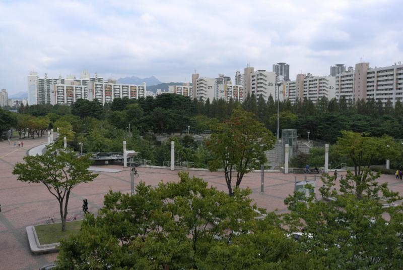 reizvolle Umgebung im Westen Seouls