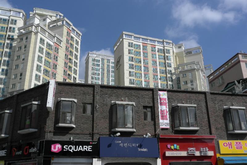 Neubauten im Nordwesten Seouls