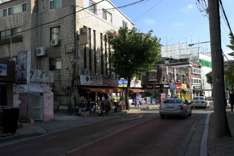 Hauptstraße in diesem Distrikt