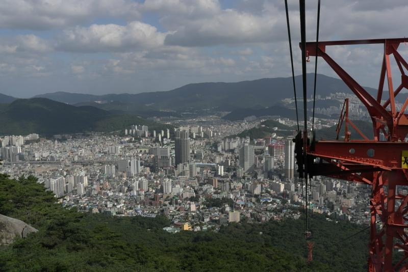 Ein einmaliger Blick aus Busan