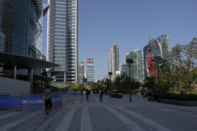 Der Süden Seouls: hier ist alles neu - fast...
