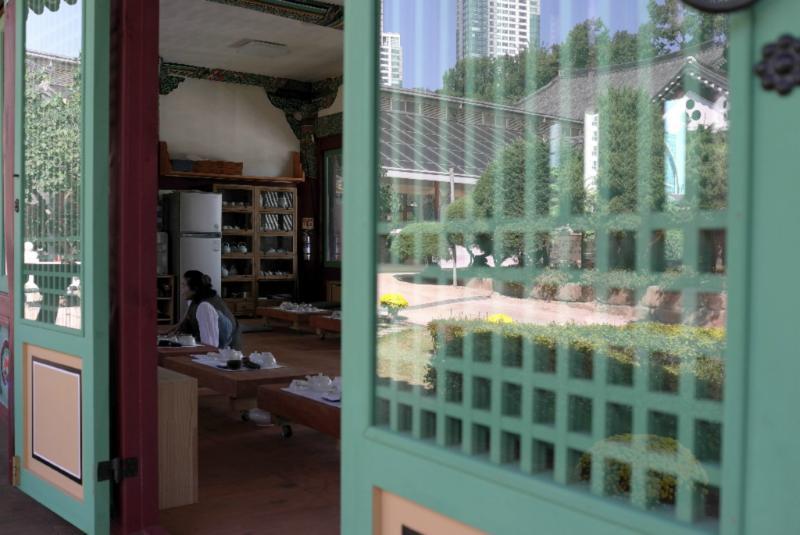 Teehaus mit Unterweisung