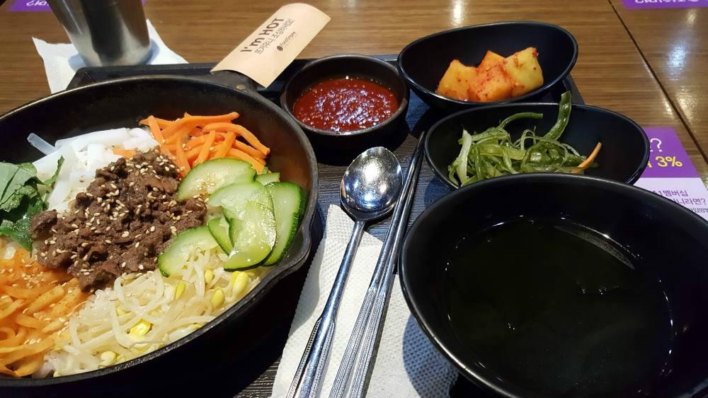 Erstes Essen in Korea...nach 1 Jahr