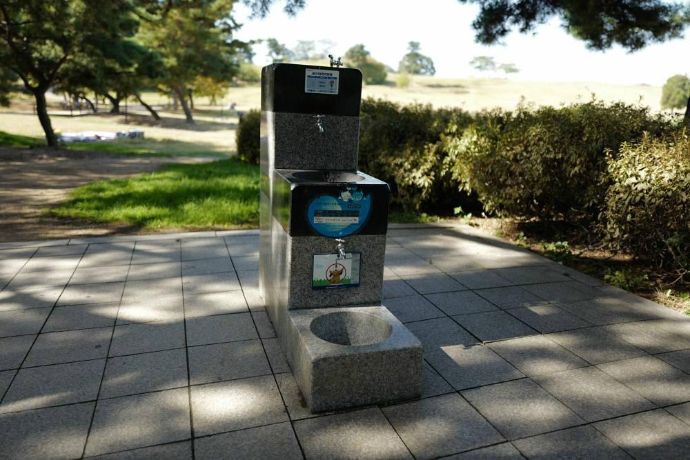 Wasser-Tankstelle: für alle Größen + Hund
