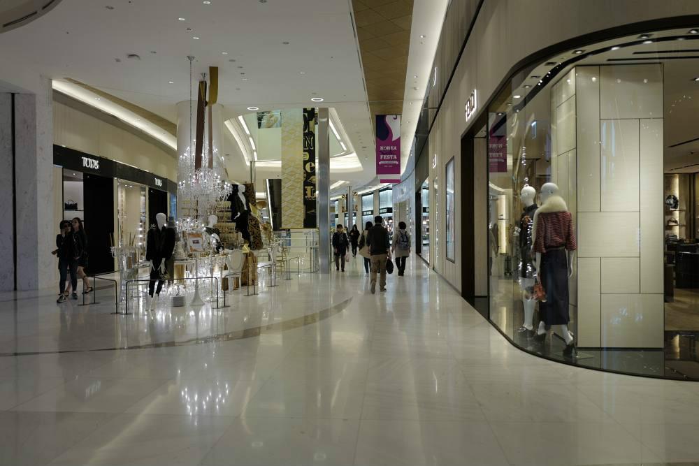 Luxury-Mall inklusive
