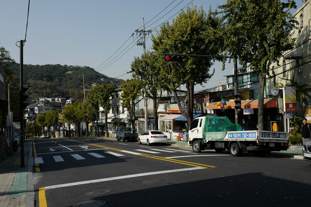 Im Stadtteil Seoul-Buamdong