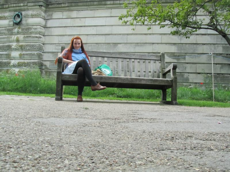 Ich, im St. James´s Park.