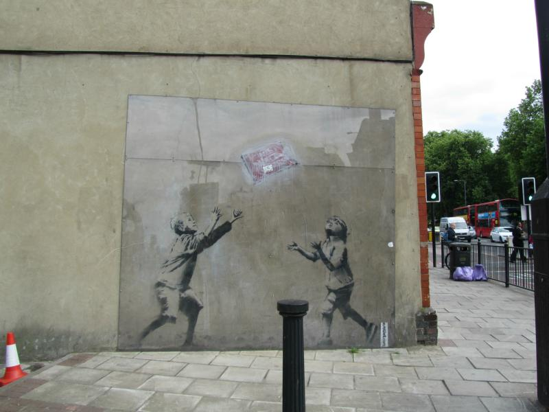 Banksy - Philipp Lane Station