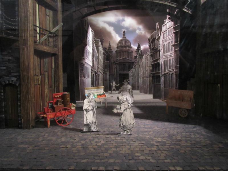 Oliver Twist - Bühnennachbau.
