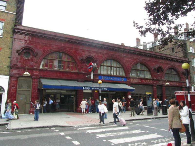 Russell Square Station