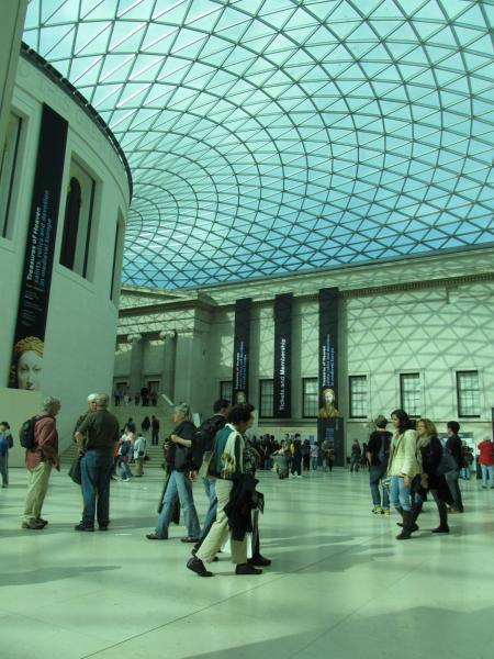 British Museum, weils so schön aussieht.
