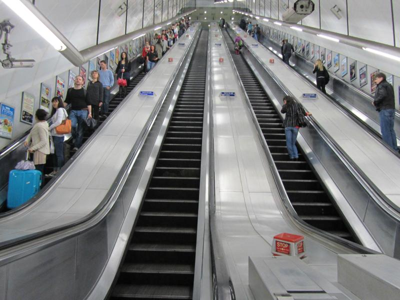 Rolltreppe Holborn Station