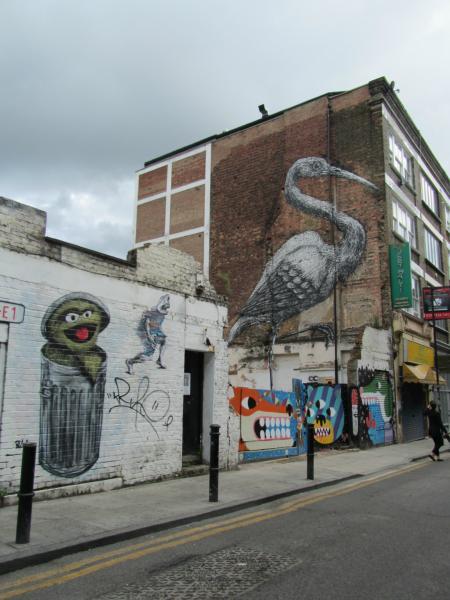 Street Art next to Brick Lane