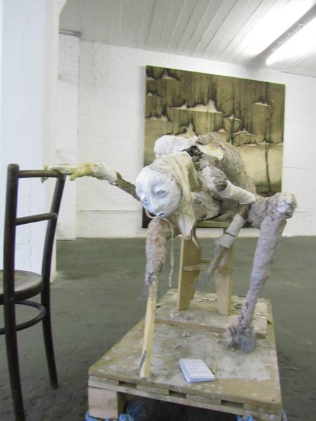 Freaky Skulptur
