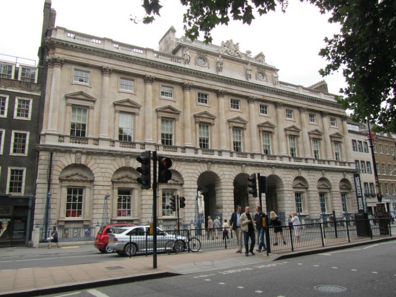 Somerset House von vorne.