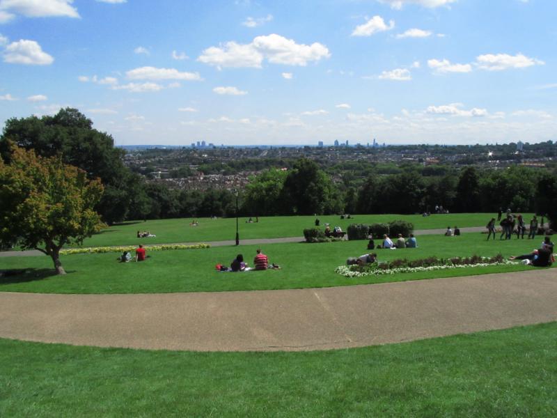 Wahnsinns Ausblick auf London / Skyline