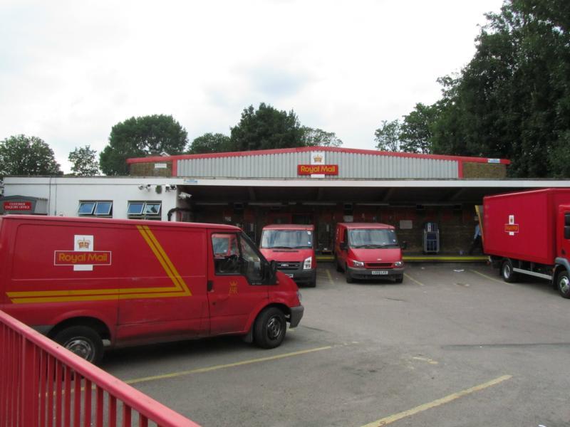 Poststelle in Tottenham