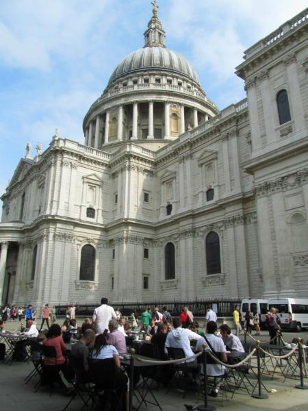 St Paul´s vom Paternoster Square