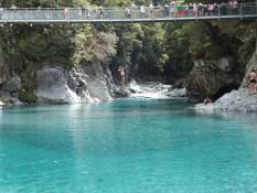 Blue springs, klarstes Wasser das ich je gesehen habe und so türkis, das Bild ist unbearbeitet