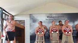Maori Dorf - super interessant gewesen, die haben dort echt gelebt