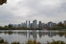 Im Stanley Park - Skyline von Vancouver